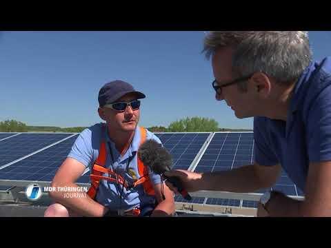 "MDR-Reportage über ""Solarputzer"""