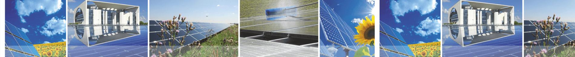 Reinigung SolarAnlagen